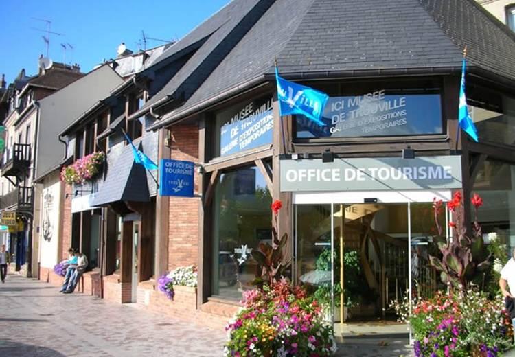 Station balnéaire de Trouville sur Mer