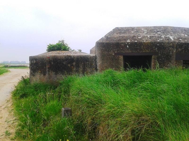 Le Bunker WN 89 de Géfosse