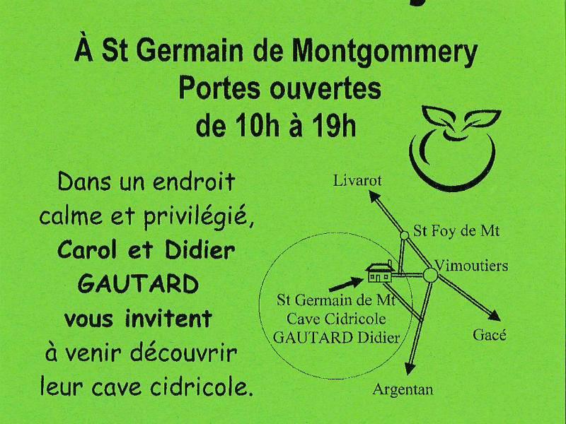 Saint-Germain-de-Montgommery - Portes ouvertes de la cave cidricole