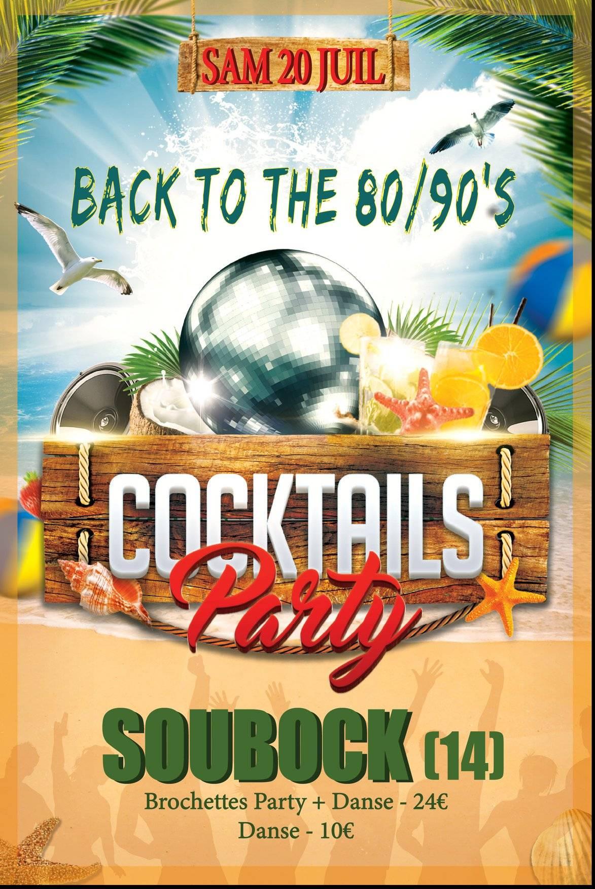 Cocktail Party - Soirée Années 80/90's