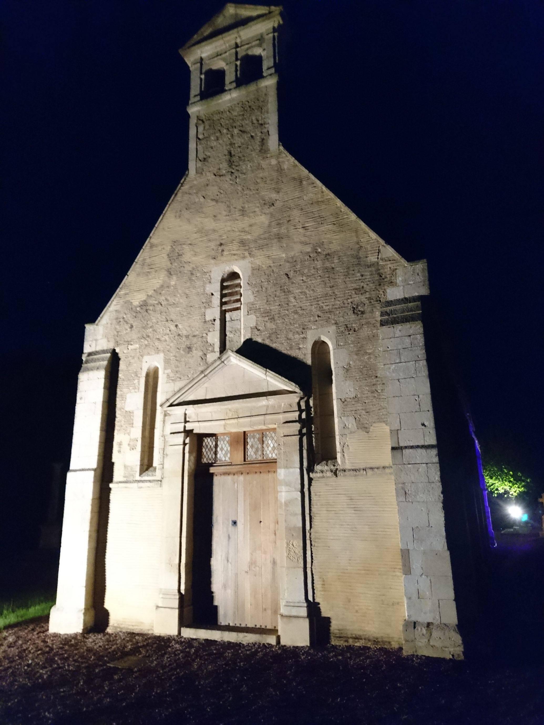 Concert et mise en lumières de la chapelle de Béneauville