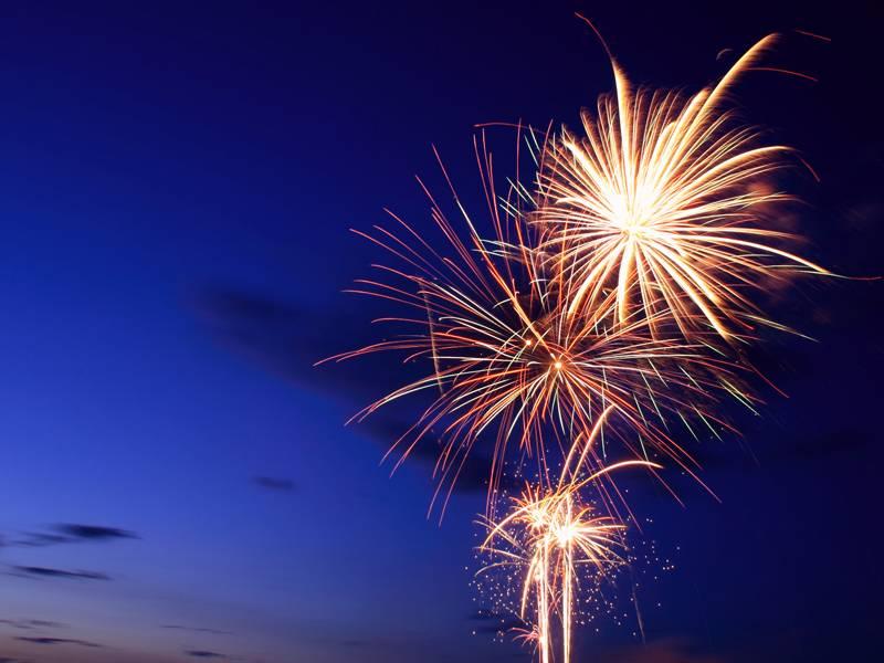 Bal et feu d'artifice à Saint Pierre sur Dives 2019
