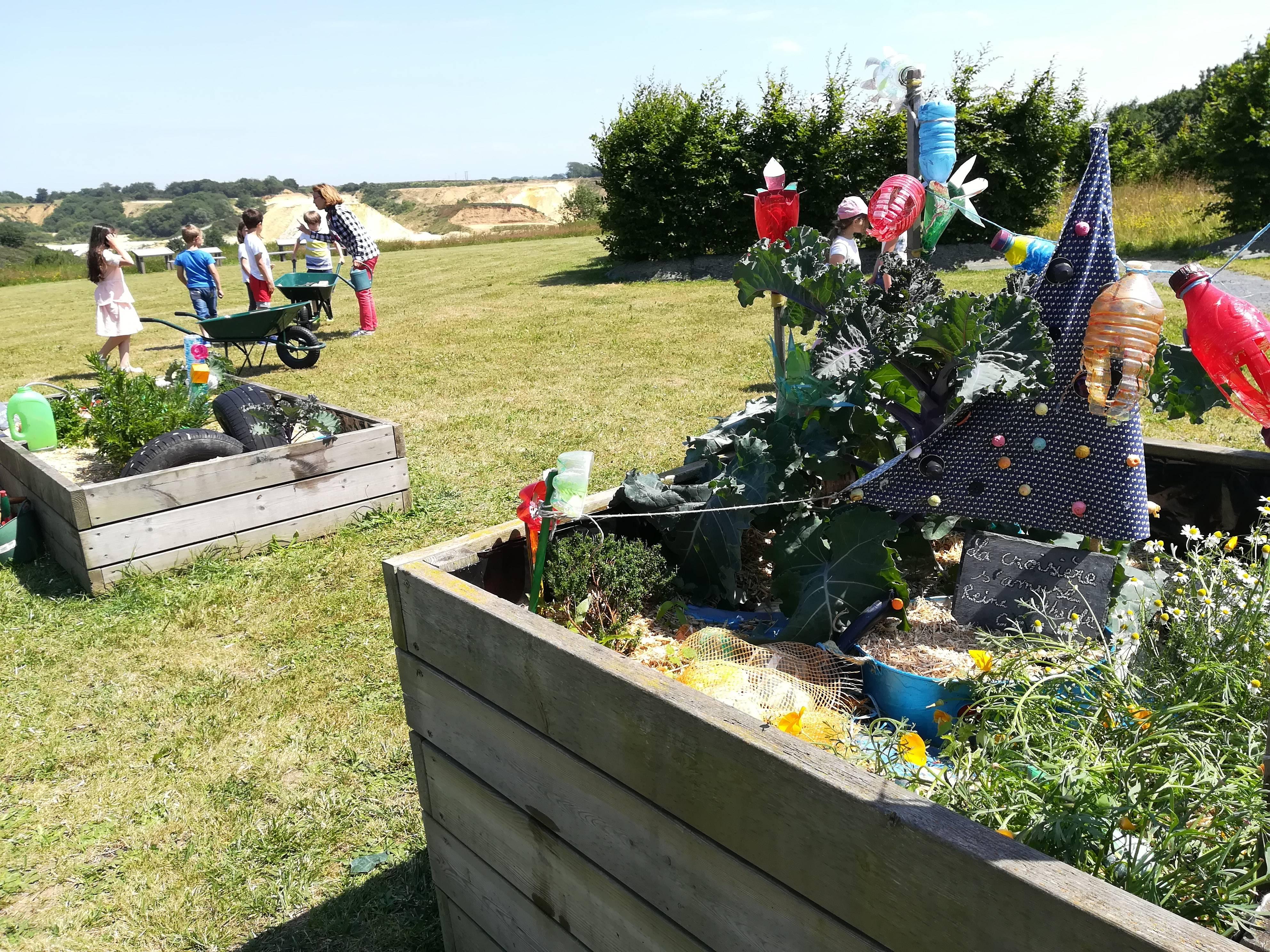 Le jardin imaginaire des déchets