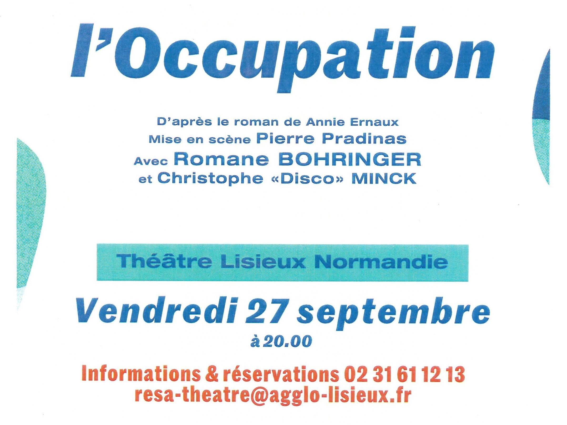 L'Occupation au théâtre de Lisieux