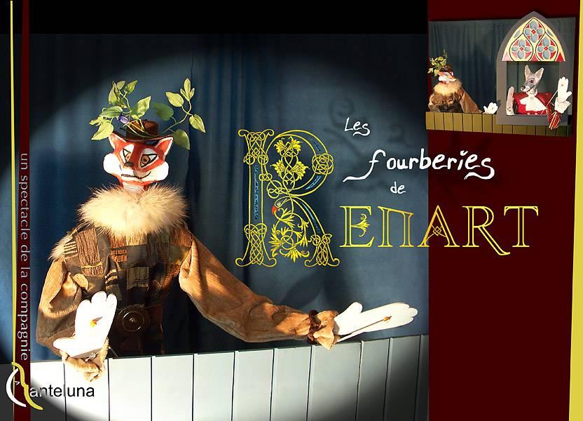 Spectacle de marionnettes : Les Fourberies de Renart par la Compagnie Canteluna