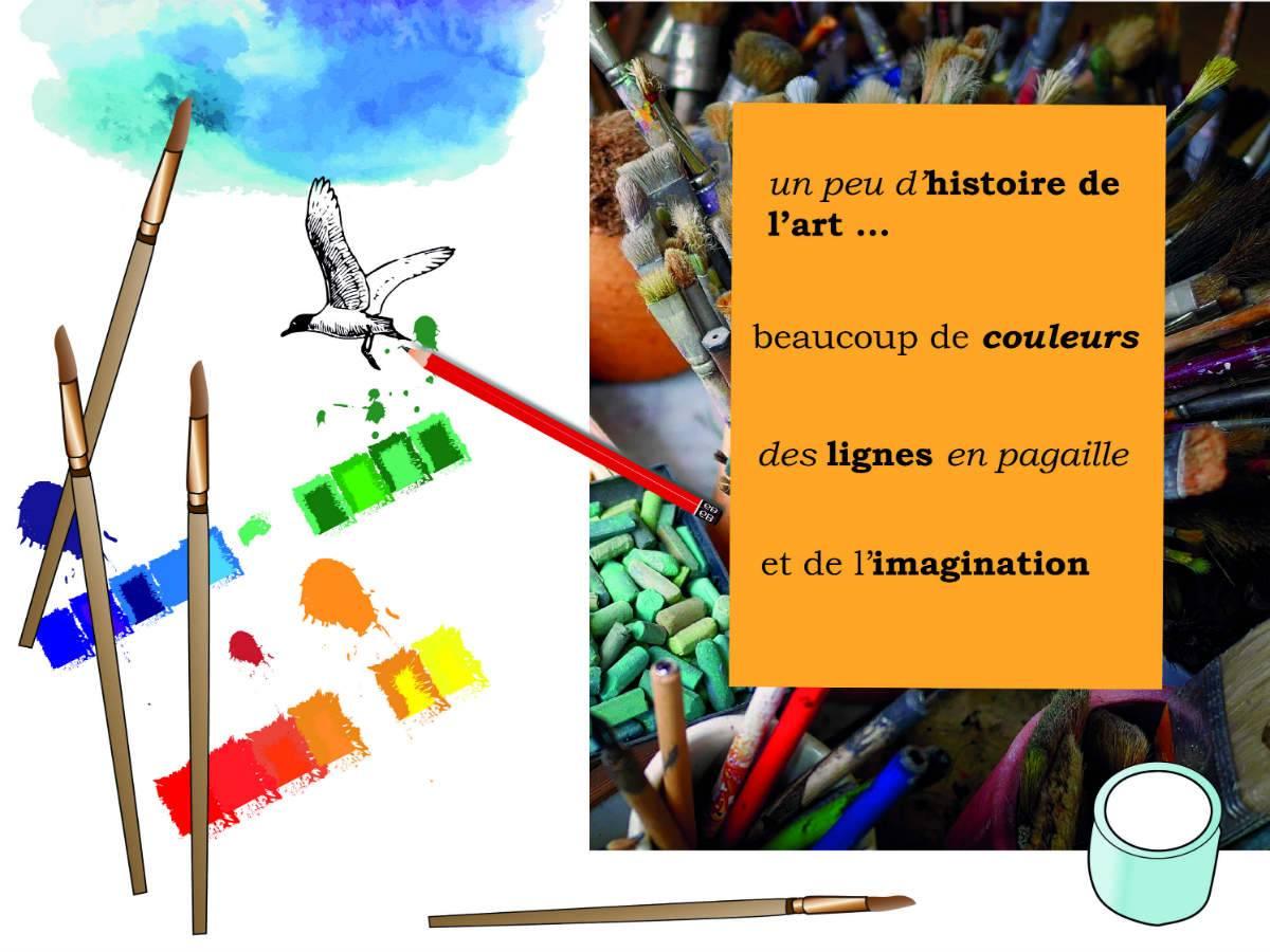 Les ateliers Arts plastiques de Musartdit
