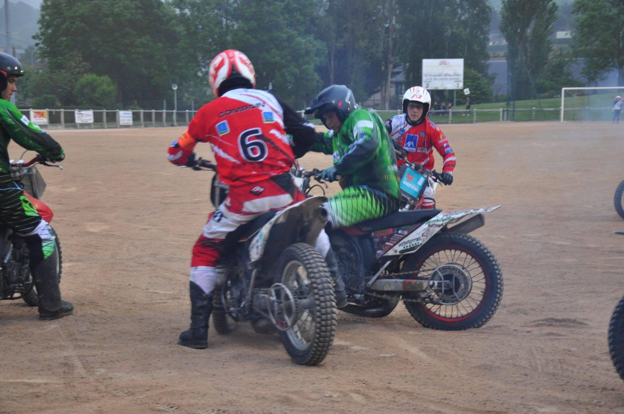 Match de motoball Houlgate-Voujeaucourt