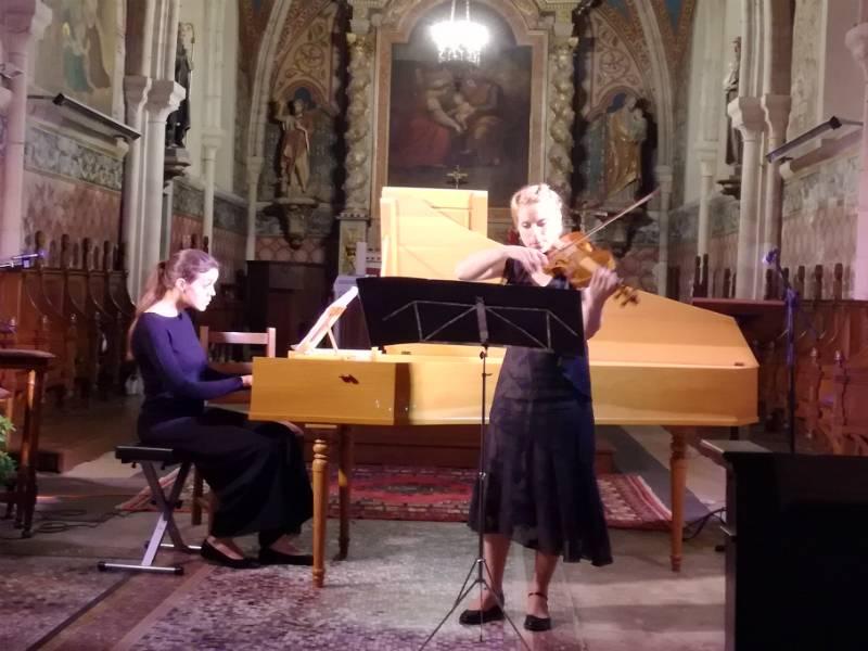Concert de musique baroque clavecin et violon