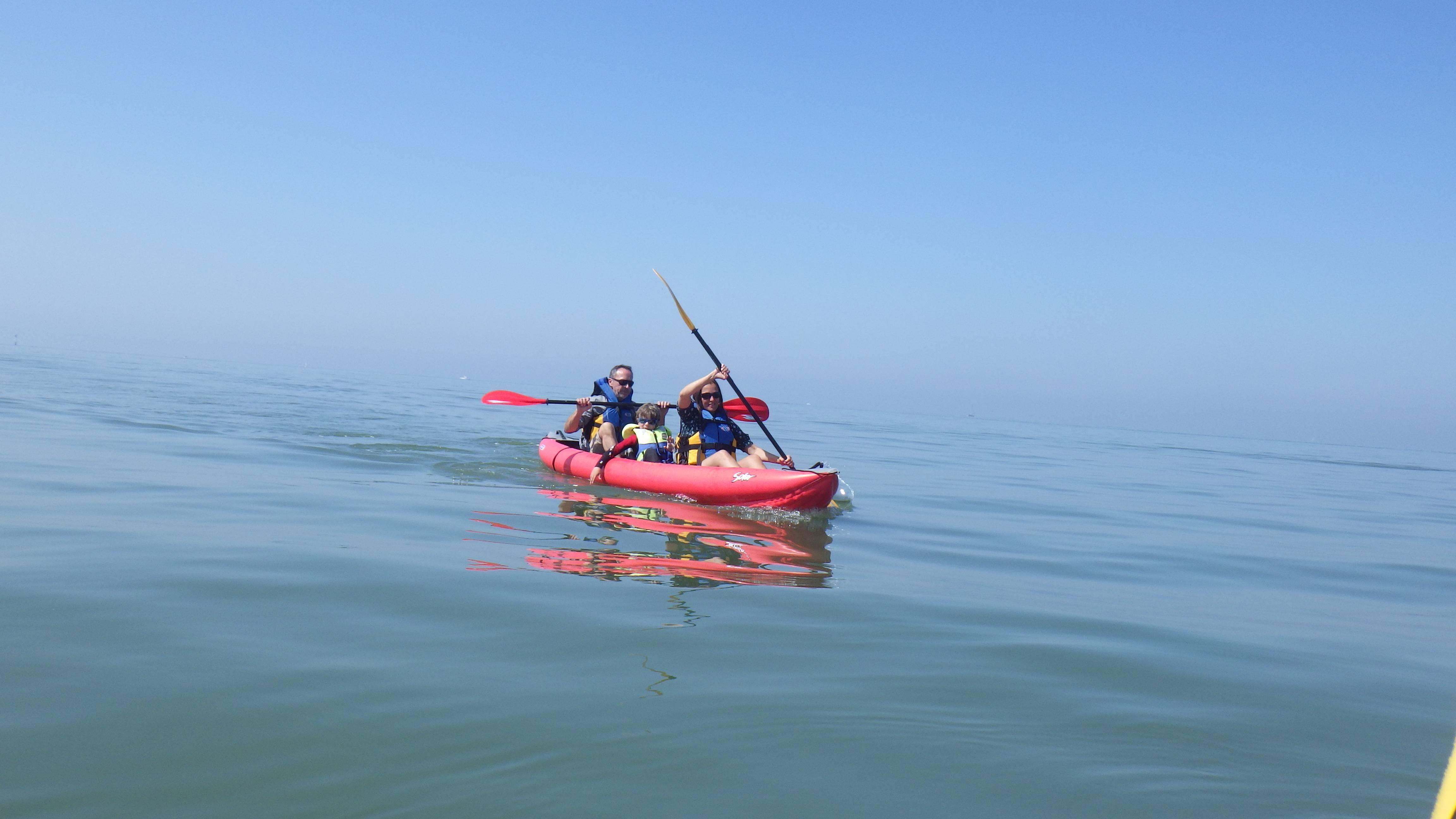 Randonnée en kayak à la découverte des fossiles