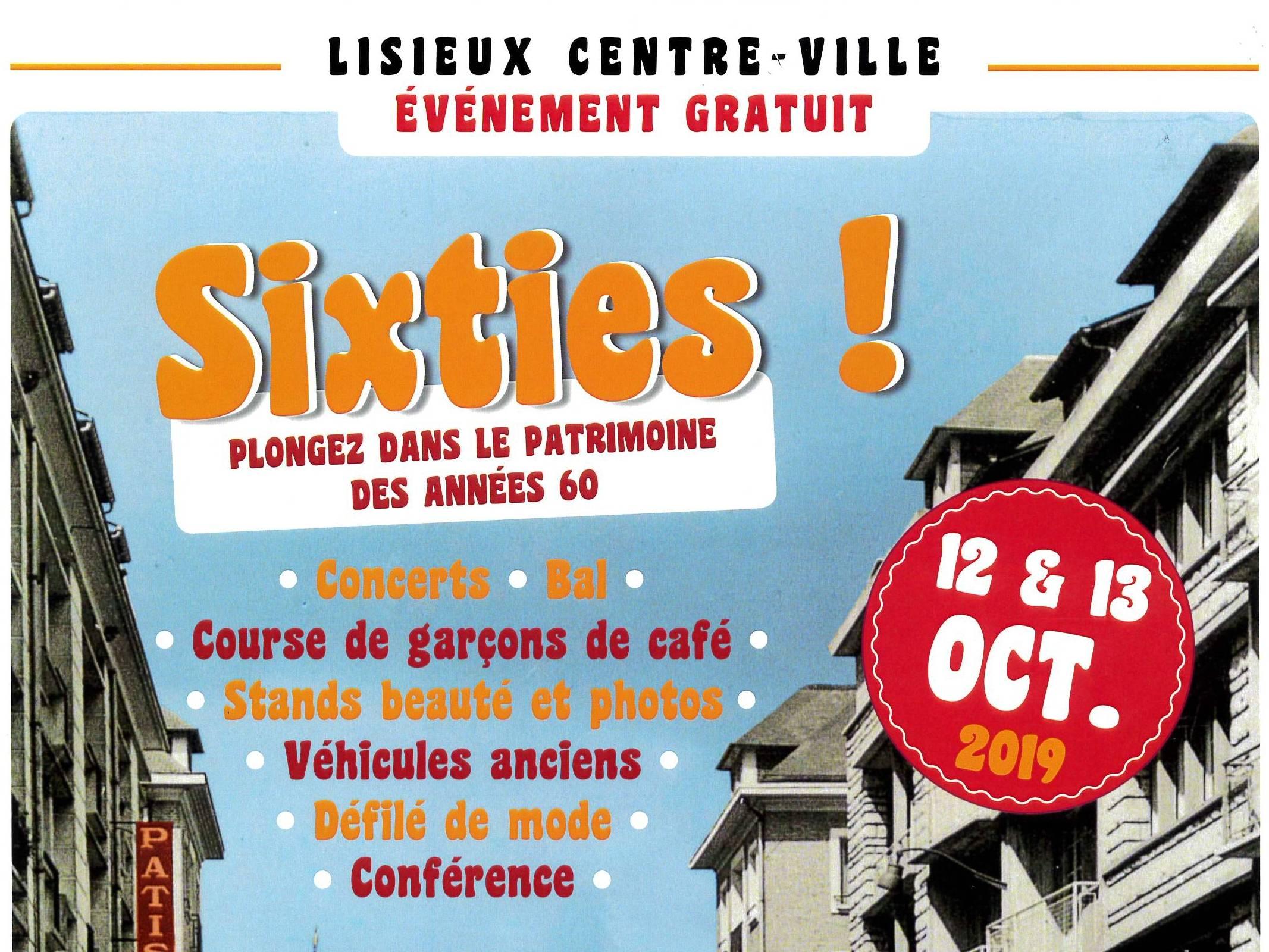 Sixties ! Plongez dans le patrimoine des années 60 à Lisieux