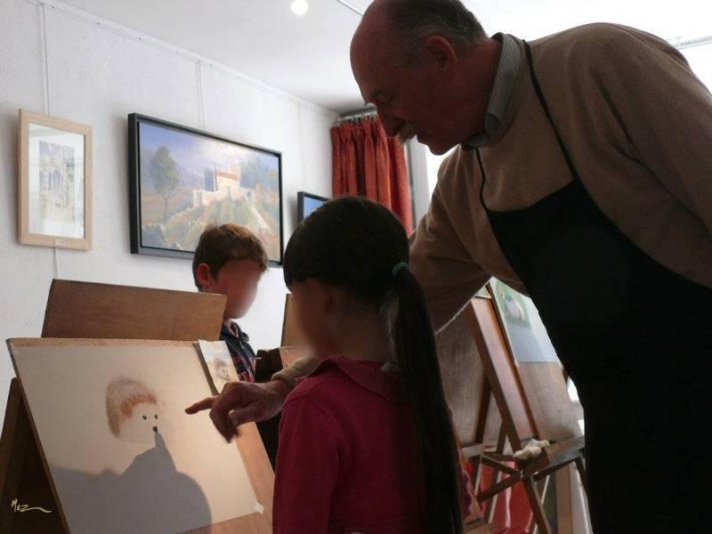 Atelier enfants : pastel animalier