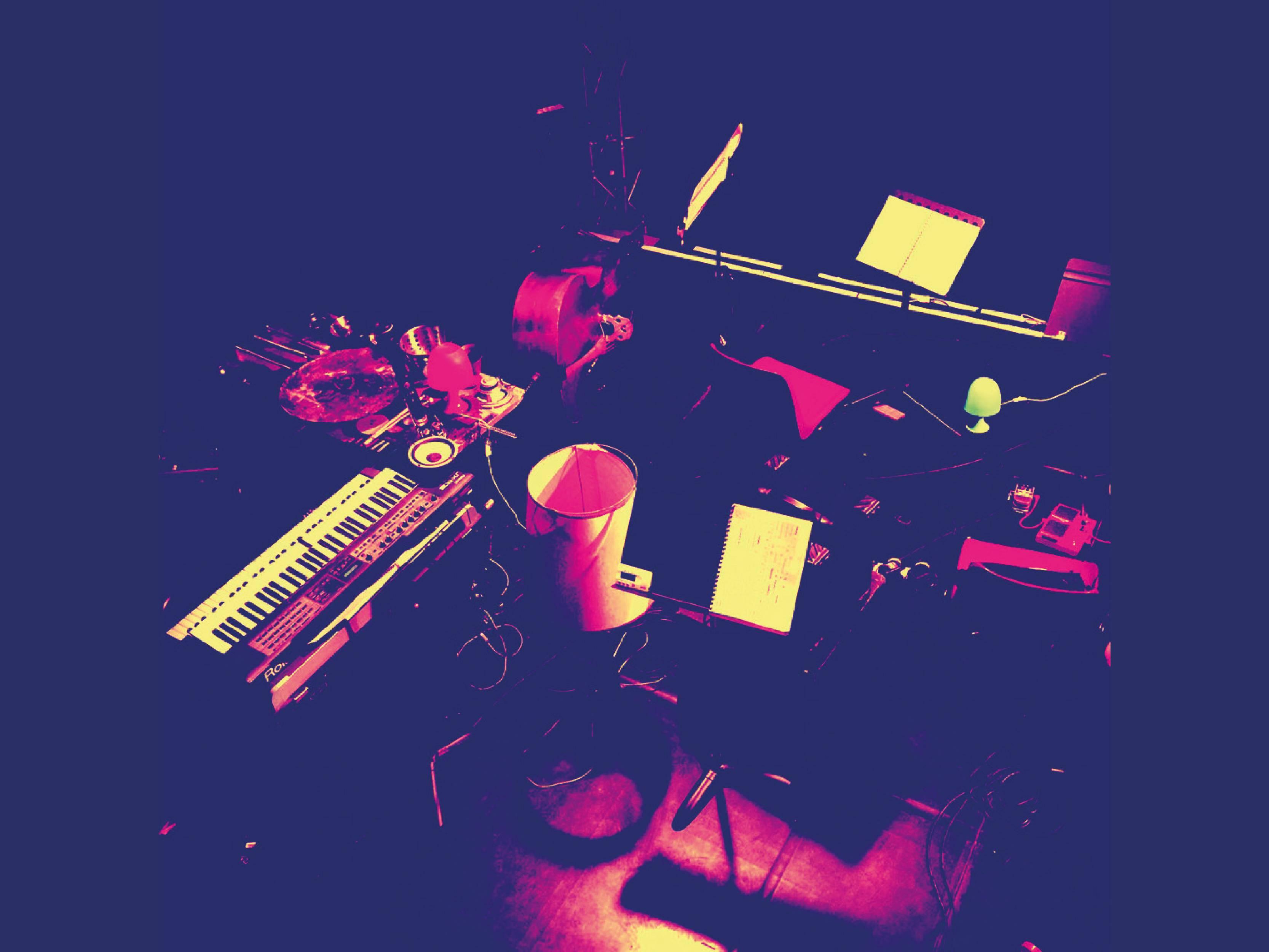 DOCLAB : Popote sonore avec un musicien de l'OMEDOC à Saint Germain d'Ectot