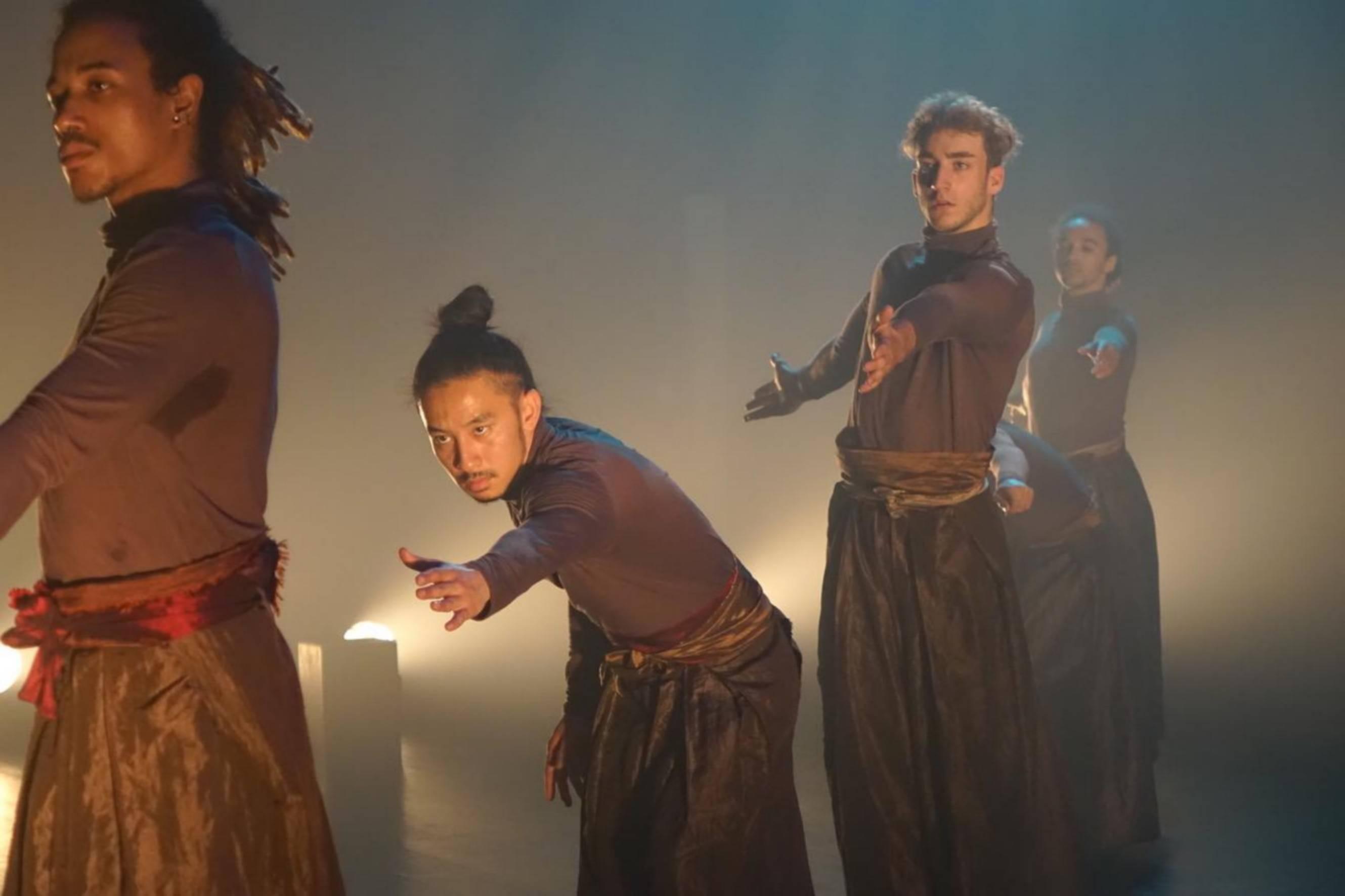 Spectacle de danse à Aunay-sur-Odon