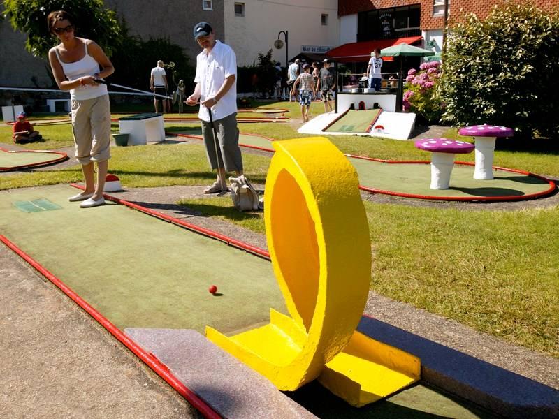 Golf miniature Bar Terrasse