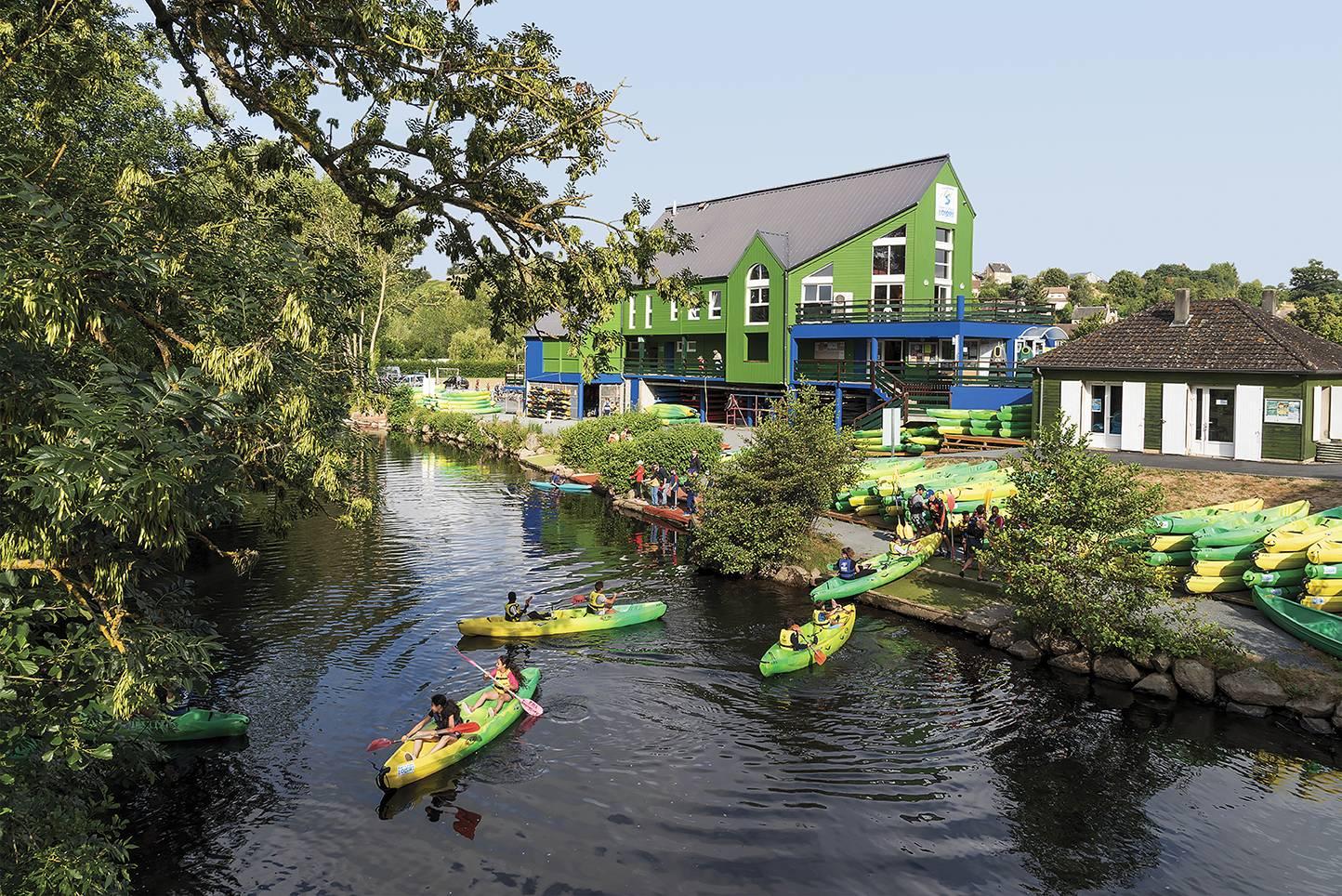 Location Canoë, kayak, paddle - Pont-d'Ouilly Loisirs