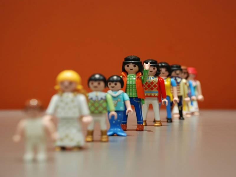 Expo/vente Playmobil