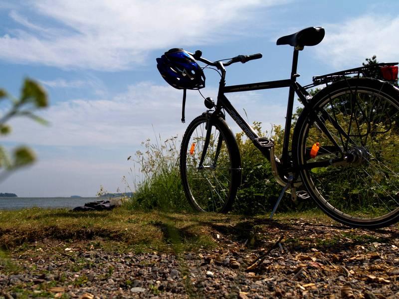 Balade en vélo-scooter